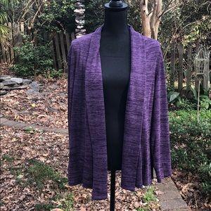 Link purple cardigan size XL